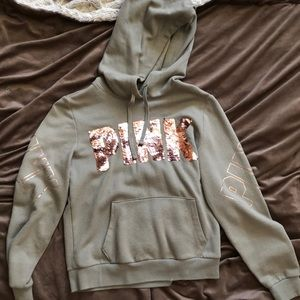 Victoria's Secret embellished hoodie